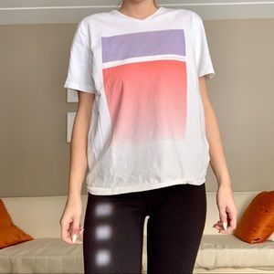 Calvin Klein White Graphic Tee